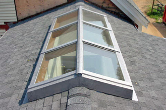 China Skylights Roof  Window Tempered Glass Panel Size Customized No Holes supplier