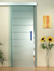 China Interior Door Silkscreen Printing Tempered Clear Glass , Decorative Tempered Glass supplier