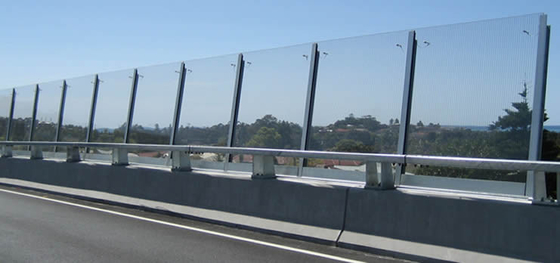 China Highway Fence Safety Glass Panel , PVB Laminated Safety Glass supplier