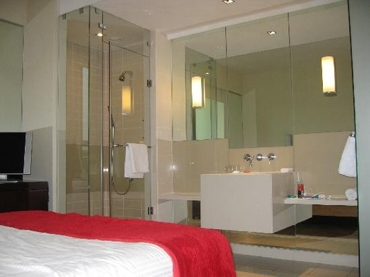 China Hotel Shower Room Self Cleaning Glass Anti Bacteria EN12150 Standards supplier
