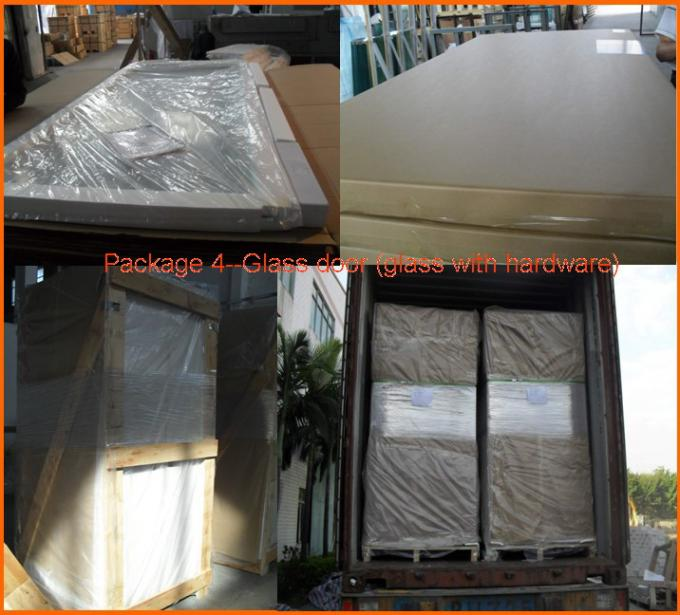 Transparent Bath Shower Screen Glass Panel  Tempered Glass Safety