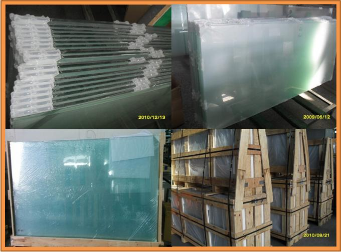 Highway Fence Safety Glass Panel , PVB Laminated Safety Glass